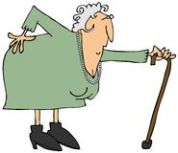 old-woman-sore-back-illustration-depicts-bent-over-aching-40575643