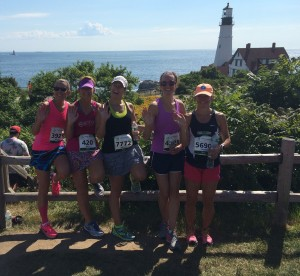 Fort Williams park in Cape Elizabeth is a great place to finish a race.
